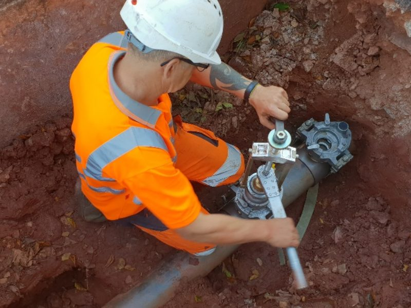 Installation of emergency filling point for Torbay Hospital